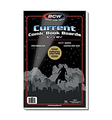 100 Comic Book Bags & Boards Bundle Current Size