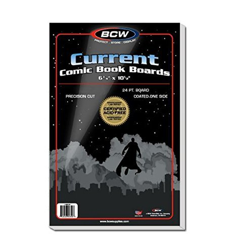 BCW Current Comic Book Bags and Backing Boards - 100 ct