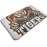 HUTTGIGH Kingdom Tigers The Walking Dead - Felpudo antideslizante para puerta de baño de cocina (19,5 x 31,5 pulgadas)
