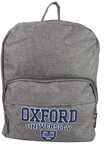 Licensed Oxford University Rucksack Backpack School College University Multi Pockets