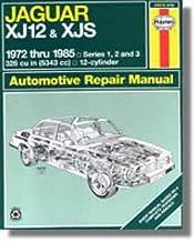 H49015 Haynes Jaguar XJ12 XJS 1972-1985 Auto Repair Manual