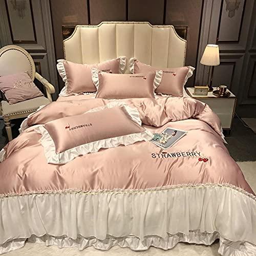 juego de funda de edredón cama matrimonio-Princesa feng shu