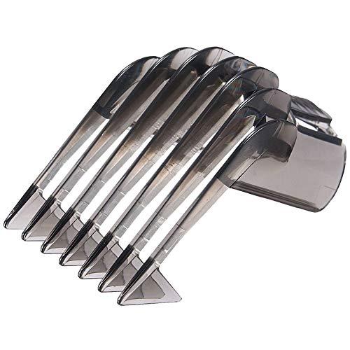 Peine De Pein Clipper, Trimmer Cabello Professional Carriladores para El Cabello Trimmer De Barba Accesorio para Phi-Lips Cliptores/Trimmers Qc5130 / 05/15/20/25/35 3-21mm Ajuste De La Barba Peine