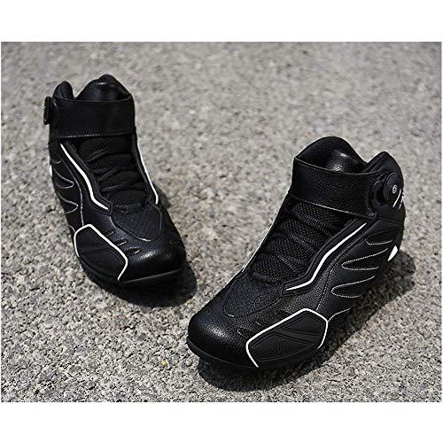 HaoLin Otoño Invierno Ciclismo De Carretera Zapatos De Bicicleta De Montaña Zapatos De Ciclismo Tallas Grandes Botas De Bicicleta Hombres Mujeres Zapatillas De Deporte MTB,Black-47