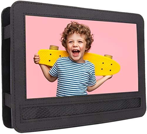 COOAU - Funda para reposacabezas de coche para reproductor de DVD portátil de 9 a 9,5 pulgadas con pantalla giratoria y abatible (para CU-901, CU-902, CU-969)