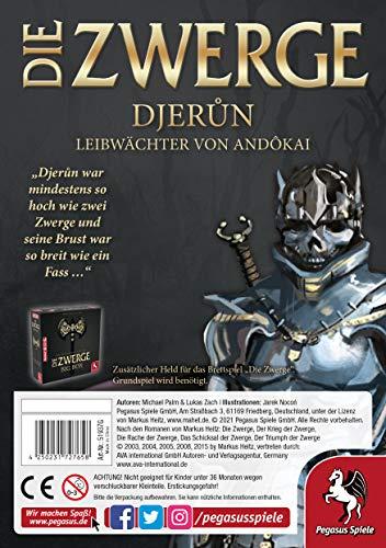 Pegasus Spiele 51937G Die Zwerge Charakterpack: Djerun