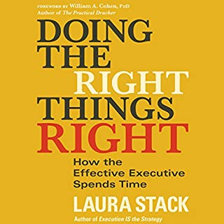 Doing the Right Things Right audiobook cover art