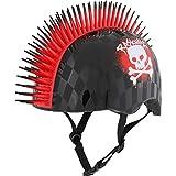 RASKULLZ Unisex-Youth Child/Kids Helmet (5+ Years) -Skull Hawk Red-Unisize 50-54cm