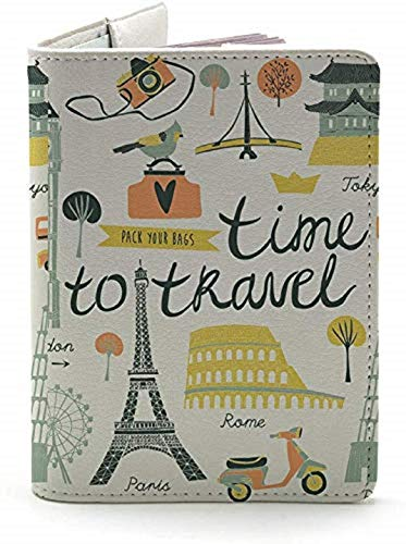 time to travel passport holder