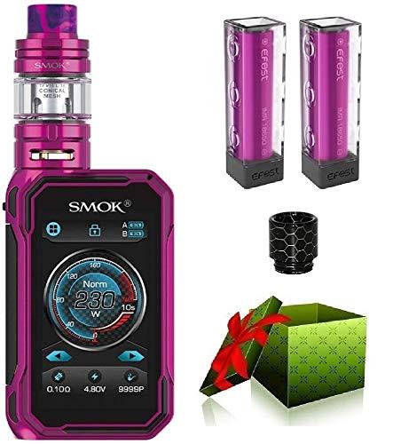 Smok G-Priv 3 230W Luxe Edition Juego de iniciación de cigarrillo electrónico TC Vape Box Mod TC kit EU 2ml Cigarrillo electrónico - SIN NICOTINA (violeta)