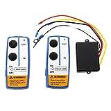 SODIAL(R) 12V Inalambrico Cabrestante Control Remoto Kit Winch