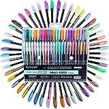 SHWIQ Colores Glitter Sketch Drawing Color Pen Markers Rotuladores De Gel Set Recarga Rollerball Pastel Neon Marker Office School Stationery