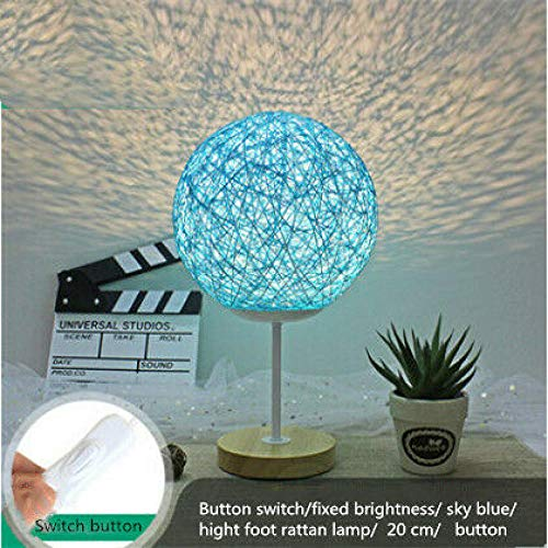 Modern LED rotan nachtlampje maanlicht USB dimbaar vermogen LED geschenken voor kinderen