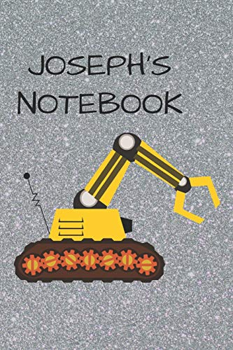 Joseph's Notebook: Funny Digger Writing 120 pages Notebook Journal - Small Lined (6
