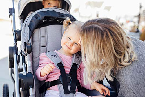 Baby Jogger City Select Stroller with Deluxe Pram   Baby Stroller with 16 Ways to Ride   Deluxe Pram Bassinet for Infants & Toddlers, Jet
