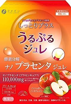 FINE Japan Placenta Jelly 220g  10g x 22 Sachet x 22-Day Course