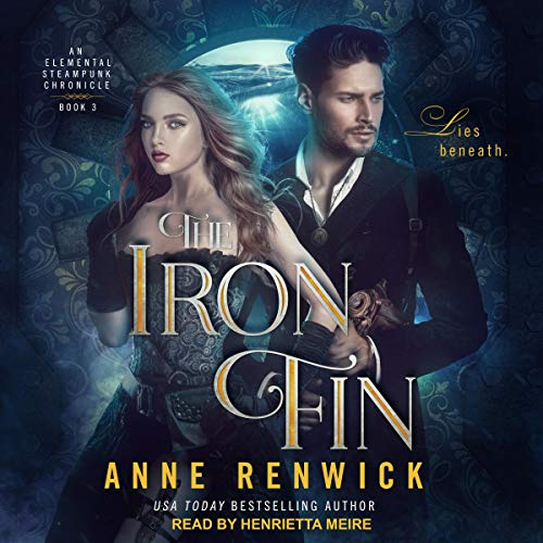 The Iron Fin audiobook cover art