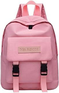 スクールバッググリーンブラックピンクソリッドカラーファッションキャンディーカラーバックパックガールズスモールトラベルスクールバックパックショルダーバッグ