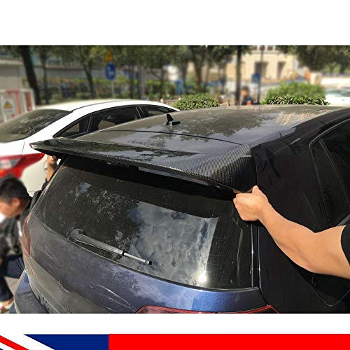 Carbon Heckspoiler Angepasst Heckspoilerlippe Tuning Spoiler Kohlefaser Kofferraumlippe für Golf MK7 GTI & R 2014-2018