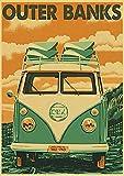 Simayi Cartel De La Lona De Los Bancos Al Aire Libre del Programa De Televisión para La Decoración De La Habitación Carteles E Impresiones Cuadros del Cartel del Arte De La Pared 40X50Cm Ig-3956