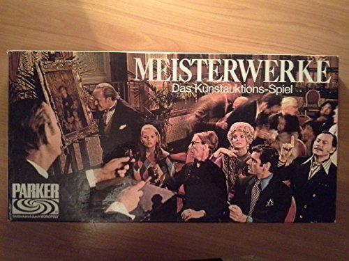 Meisterwerke. Das Kunstauktions-Spiel.