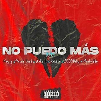 No Puedo Más (Remix)