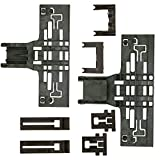 UPGRADED 8 Pack W10546503 Upper Rack Adjuster Kit High Polymer Material W10195839 W10195840 W10250160 Fits for Whirlpool Ken-more Dishwasher Top Rack Adjuster Replacement - 8 Pack by Sikawai