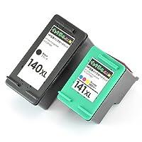 【インク革命製】 HP用 HP140XL+141XL(ブラック大容量、カラー大容量セット) ヒューレット・パッカード対応 リサイクルインクカートリッジ