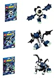 LEGO, Mixels, Series 4 Bundle Set of Glowkies, Globert (41533), Vampos (41534...
