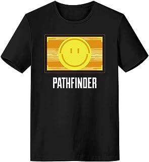 Apex Legends エーペックス レジェンズ 半袖 Tシャツ パスファインダー Apex Tシャツ 薄い 夏 日常服 上着 スマイルマーク プレゼント シャツ 半袖 男女兼用 L