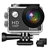 Action Camera Davola 1080P WiFi Sports Camera 12MP Underwater Waterproof Camera with Wide-Angle Lens and Mounting...