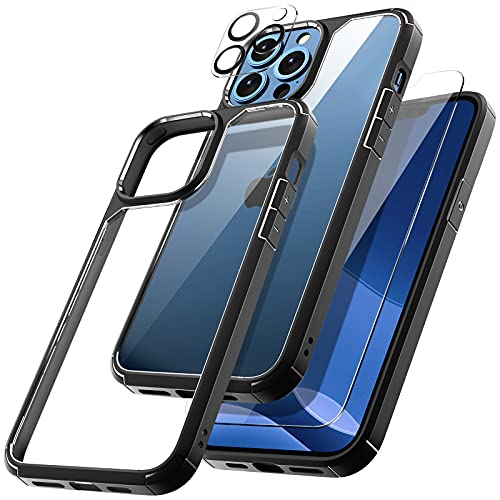 TOCOL Funda Compatible con iPhone 13 Pro MAX 5G, 2 Piezas Protector...
