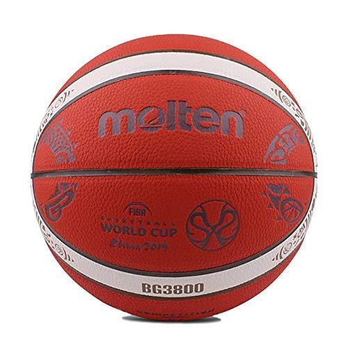 siqiwl Baloncesto original Bg3800 balón de baloncesto de la Copa del Mundo 2015-2019 con nuevo toque tamaño 7 baloncesto para hombres para entrenamiento de partido