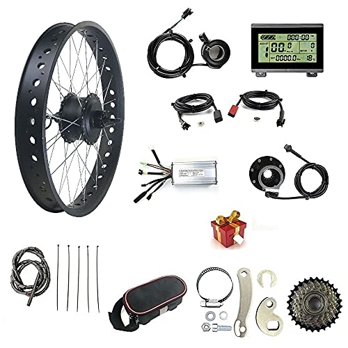 48V 500W Electric Bicycle Conversion Kit, Snow...