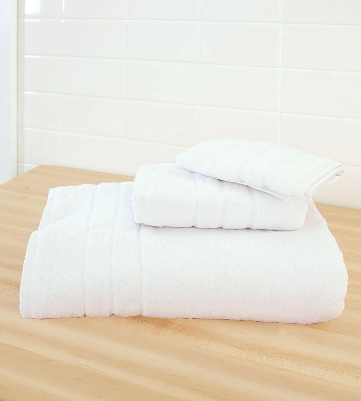 Cariloha Bamboo 3 Piece Towel Set (White)
