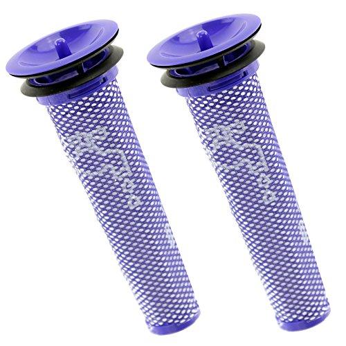 SPARES2GO Lot de 2 pré-filtres moteur lavables pour aspirateur Dyson DC58 DC59 V6 Animal