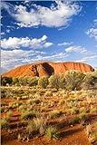 Poster 20 x 30 cm: Uluru im Outback von David Wall/Danita