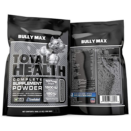 Bully Max Total Health Supplement, 60 Day Supply by Bully Max, 13oz