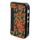 Decal Sticker Skin WRAP Orange & Green Camo Custom Art for Dovpo Guardian 1.5 150W