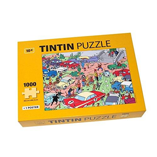 Moulinsart- Tintín Puzzle El Rally (81546)