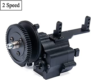 RCLions CNC Aluminum 2 Speed Transmission Gearbox for Axial Wraith 90048 90018 90053 1/10 RC Crawler Car
