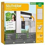 SELITHERM - el perfecto juego de accesorios para el aislamiento de cajas de persianas para un mayor efecto de aislamiento y más eficiencia