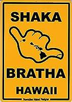 ハワイアン雑貨/ハワイアン インテリア サインボード(SHAKA) 【ハワイ雑貨】【お土産】