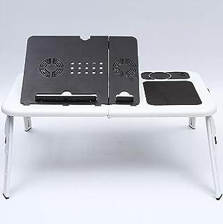 JBHURF Bureau de lit Pliant Paresseux Table Ordinateur Portable lit Petite Table dortoir étudiant sur la Baie vitrée Assis...