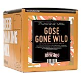 Brooklyn Brew Shop/Stillwater Gose Gone Wild Beer Making Mix: All-Grain Beer Making Mix Including Malted Barley, Hops, Yeast And Lactobacillus - Perfect For Brewing Craft Beer On Your Stove at Home