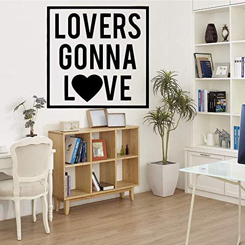 yaofale Love Wall Stickers Pegatinas de Pared Modernas y