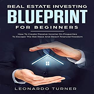 Real Estate Investing Blueprint for Beginners audiobook cover art