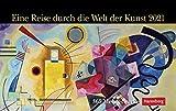 Eine Reise durch die Welt der Kunst - Premiumkalender 2021 - Harenberg-Verlag - Tageskalender mit 365 faszinierenden Meisterwerken - 22,8 cm x 16,8 cm - Germany - Deutschland-Kalender