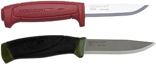 Bundle - 2 Items: Morakniv Craft Basic 511 Carbon Steel Knife and Morakniv Companion MG Carbon Steel Knife