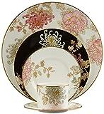 Lenox Marchesa 5-Piece Place Setting, Painted Camellia, White -